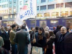 Manifestazione per la liberazione dei Marò di fronte al Consolato Indiano, 2012